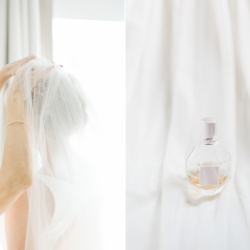 Bridal detail shot of amazing veil captured by Cheyenne Schultz Photography