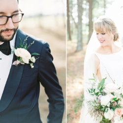 Bride and Groom portraits captured by Cheyenne Schultz Photography