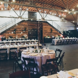 Wedding reception at 10 Catawba coordinated by Magnificent Moments Weddings