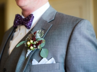 Magnificent Moments Weddings groom's boutonniere