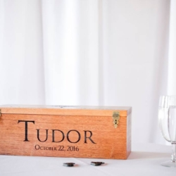 Wine box for the ceremony