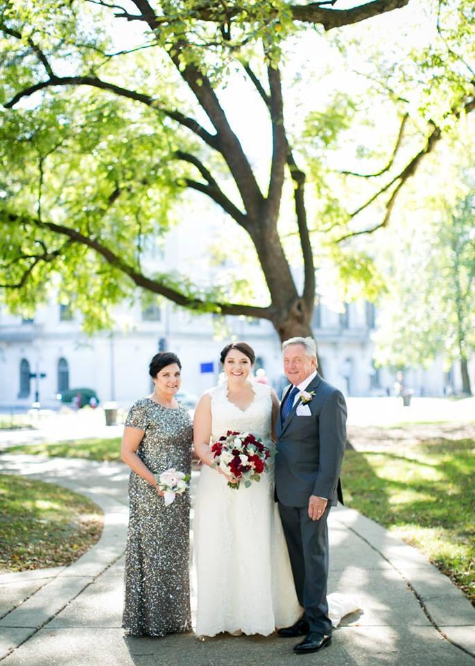 Proud Bride's parents