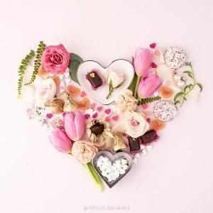 2017 Free Valentine S Floral Heart Image SC Stockshop 6 Grande