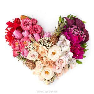 2017 Free Valentine S Floral Heart Image SC Stockshop 7 Grande