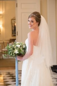 Southern bridal portrait by Old South Studios