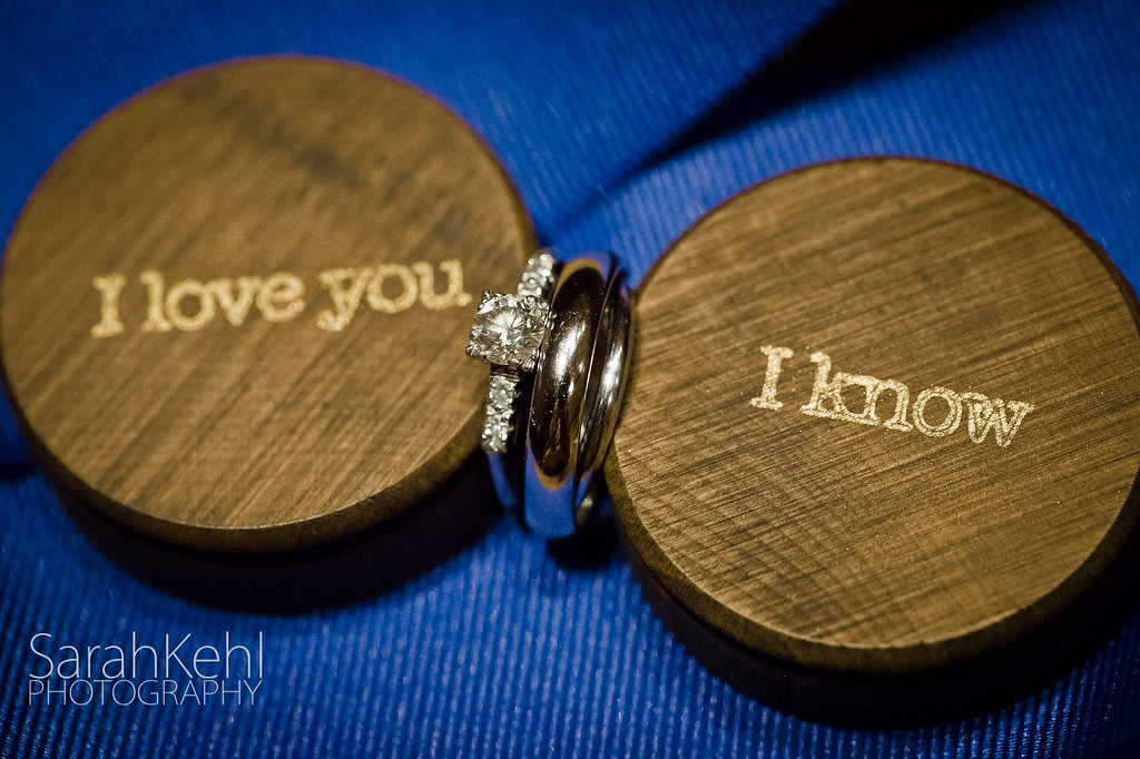 Star Wars wedding ring boxes
