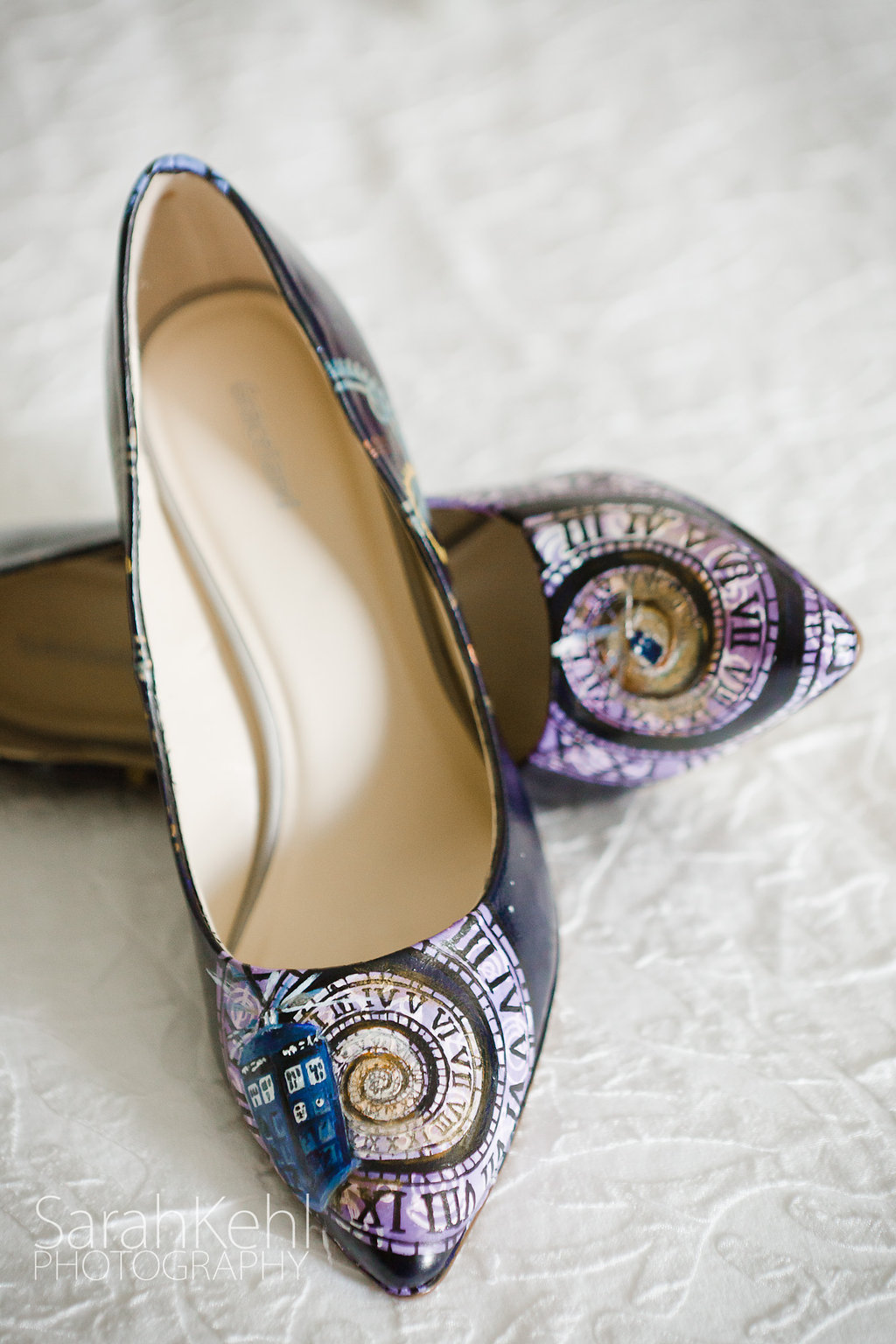 Doctor Who wedding shoes