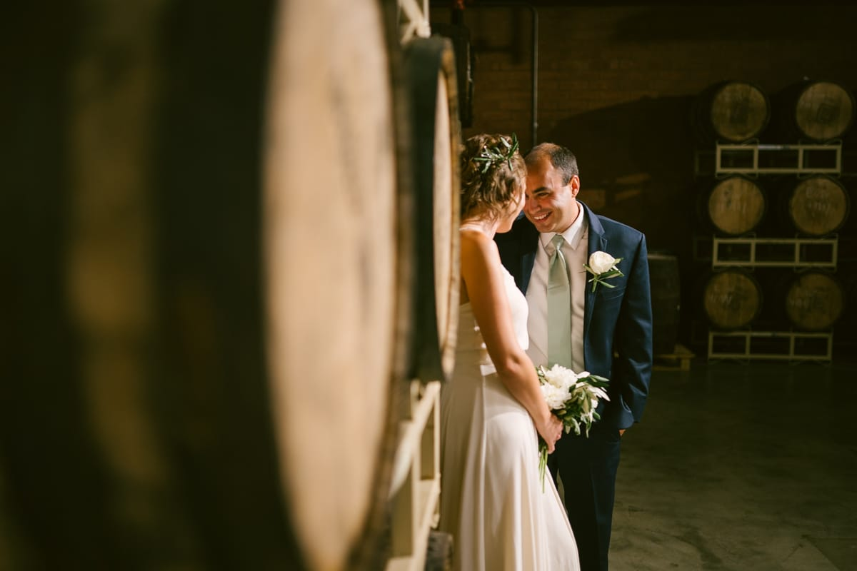 Wedding photos at Triple C Barrel Room in Charlotte