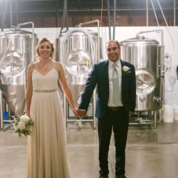 Wedding photos at Triple C Barrel Room in Charlotte