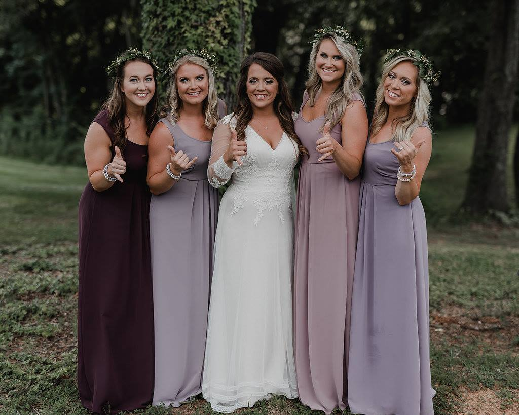 college bridesmaids