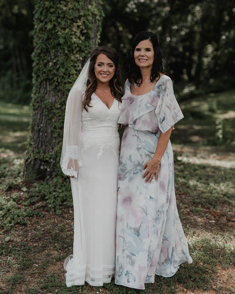 Bride and Mother of the Bride at Camellia Gardens
