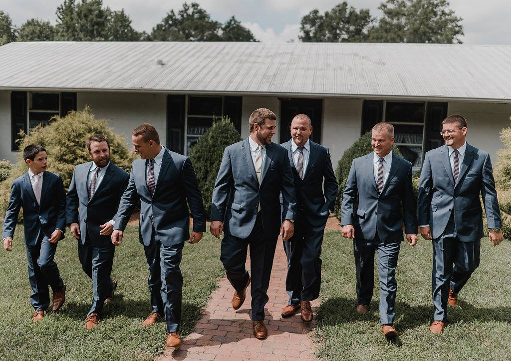 groomsmen ready for the wedding