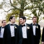 Groom with groomsman captured by Cameron Faye Photography