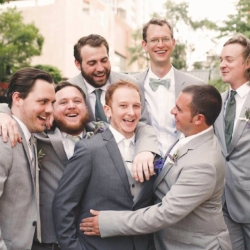 groom and groomsmen funny photo