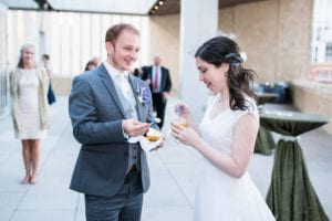Bella Fresco Gelato at Mint Museum Uptown Wedding, photography by Karenina H Photography, coordination by Magnificent Moments Weddings
