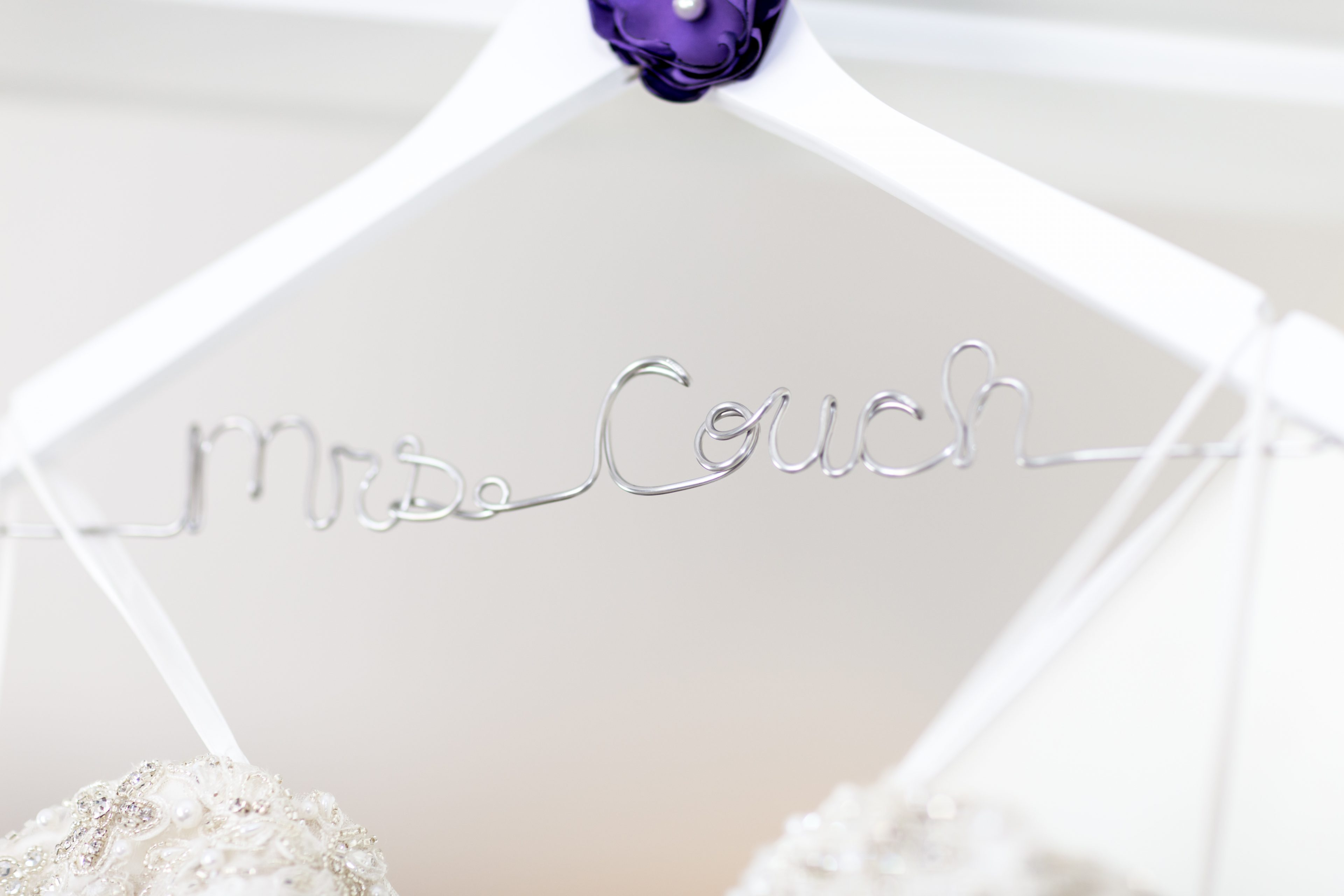 Mrs. bridal hanger