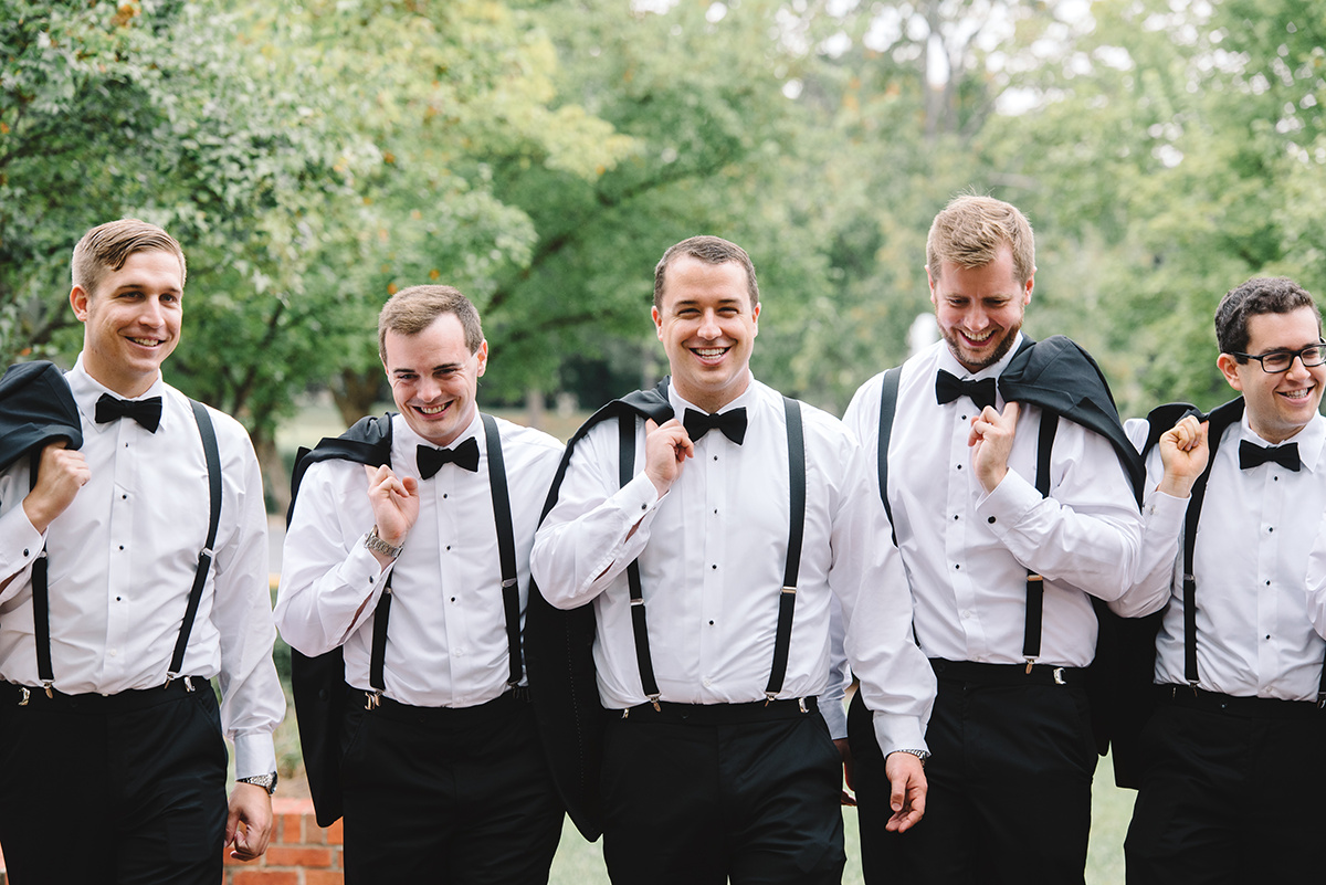 Groom with groomsmen causal pictures photography by Riette Farthing Photography