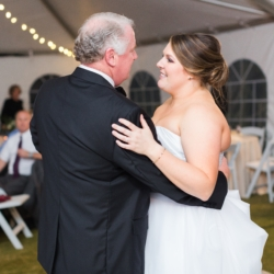 Father Daughter Dance outdoor tented reception coordination by Magnificent Moments Weddings