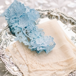 Sunshower Photography captures a brides something old and something blue for a spring wedding at Foundation for the Carolinas