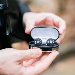 Custom cuff links are the perfect touch for a groom captured by Ally and Bobby Photogrpahy