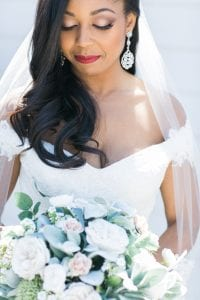Almond Leaf Studios captures a bride before her wedding day with stunning makeup by Makeup by Percida