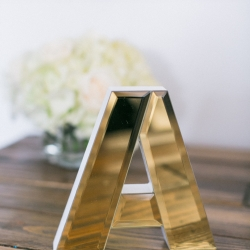 Detail shot of wedding decor items captured by Almond Leaf Studios