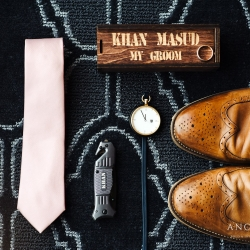 Anchor and Veil Photography captures the grooms accessories as he prepares for his wedding at Terrace at Cedar HIll