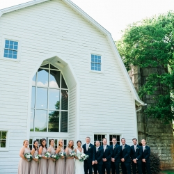 The Diary Barn wedding venue serves as a elegant backdrop to a spring wedding captured by Ashley Sue Photography