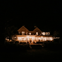 Ritchie Hill was the perfect setting for a fall wedding coordinated by Magnificent Moments Weddings