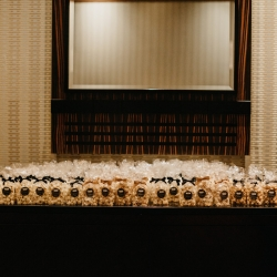 Flavored popcorn favors from My Popcorn Heaven made the perfect favor for a spring wedding in Charlotte, North Carolina