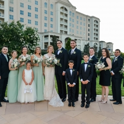 George street Photography captures a sweet bridal party as they prepare for their wedding coordinated by Magnificent Moments Weddings