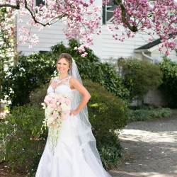 Old South Studios captures a bride on her wedding day coordinated by Magnificent Moments Weddings in Charlotte, North Carolina
