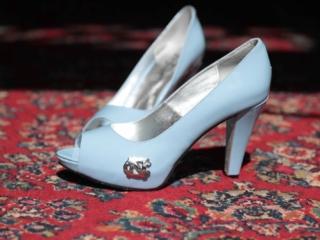 UNC Wedding shoes