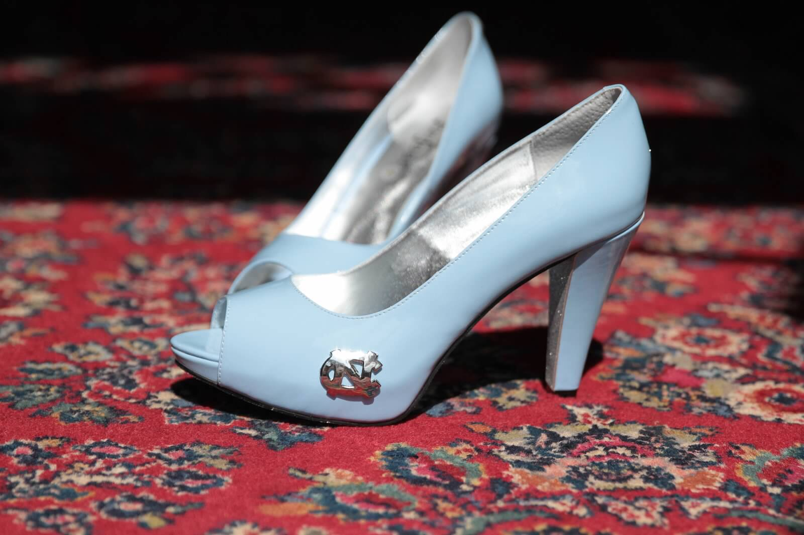 UNC Wedding shoes
