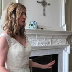 Bride getting ready (funny picture)