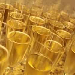 sparkling cider toasts