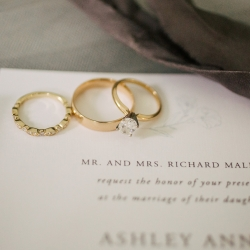 Bridal jewelry serves as the perfect accent for Cameron Faye Photography to capture during a summer wedding