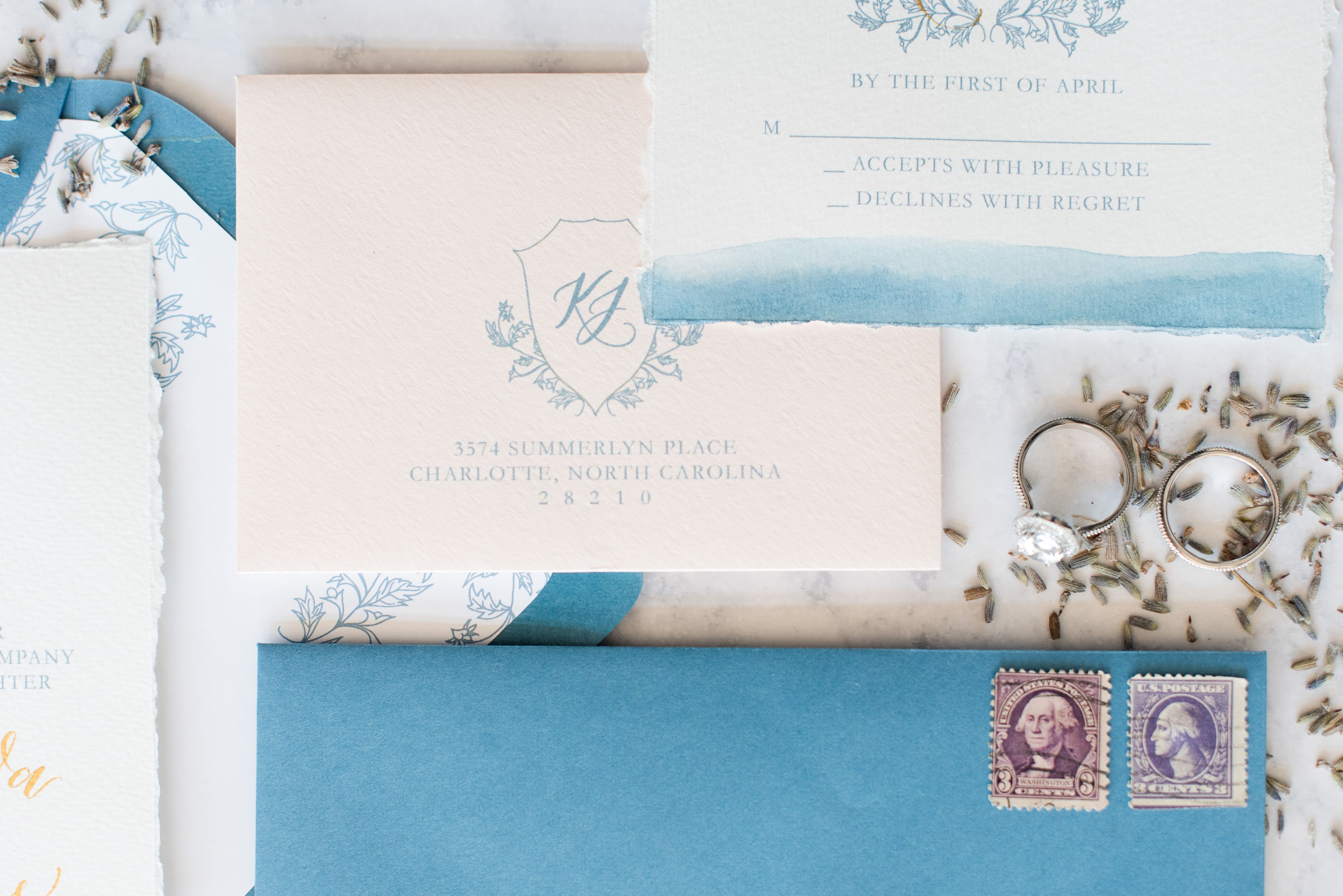 French Wedding Inspiration - French Blue Styled Shoot | Charlotte ...
