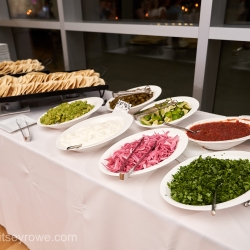 Critsey Rowe Photography captures a fun taco bar created by Something Classic for a summer wedding at The Mint Uptown