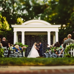 Crystal Stokes Photography captures a stunning ceremony in the gardens of Duke Mansion in Charlotte, North Carolina