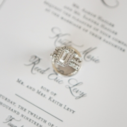 Erin Kranz Photography captures bridal jewelry details for an Uptown Charlotte Wedding