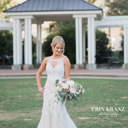 Erin Kranz Photography captures a bride on her wedding day coordinated by Magnificent Moments Weddings