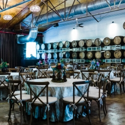 Catawa Brewery served as the stunning background to a fun wedding coordinated by Magnificent Moments Weddings