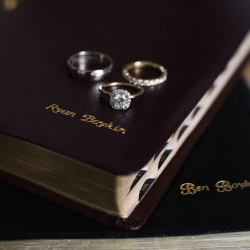 Grace Hill Photography captures bridal jewelry for a winter wedding