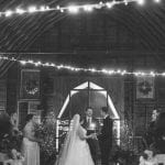 Magnificent Moments weddings coordinates romantic ceremony at the Diary Barn