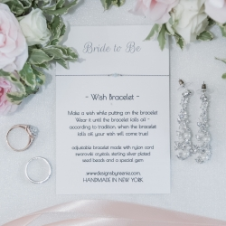 Bridal jewelry shows off meaning and love for a spring wedding at Providence Country Club coordinated by Magnificent Moments Weddings
