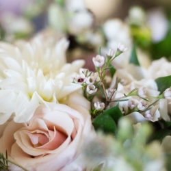 Indigo Photography captures the details of florals created by Heatherly Event and Design