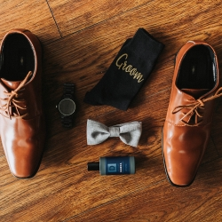Grooms accessories are the perfect subject for John Branch IV Photography