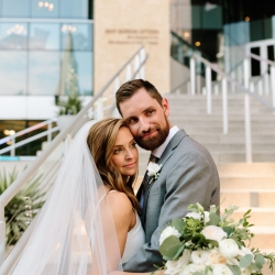 Jordyn Schirripa Photography captures a bride and groom during their wedding coordinated by Magnificent Moments Weddings