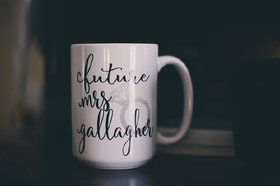 future mrs coffee mug